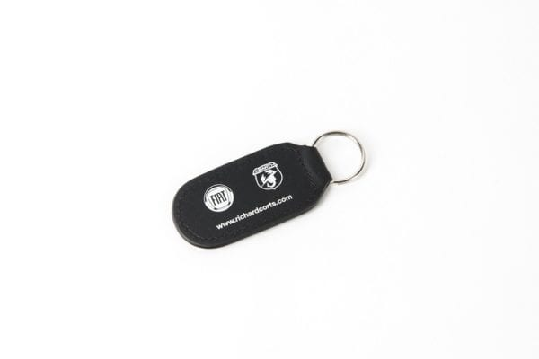 Steel & LEather Key Ring 15