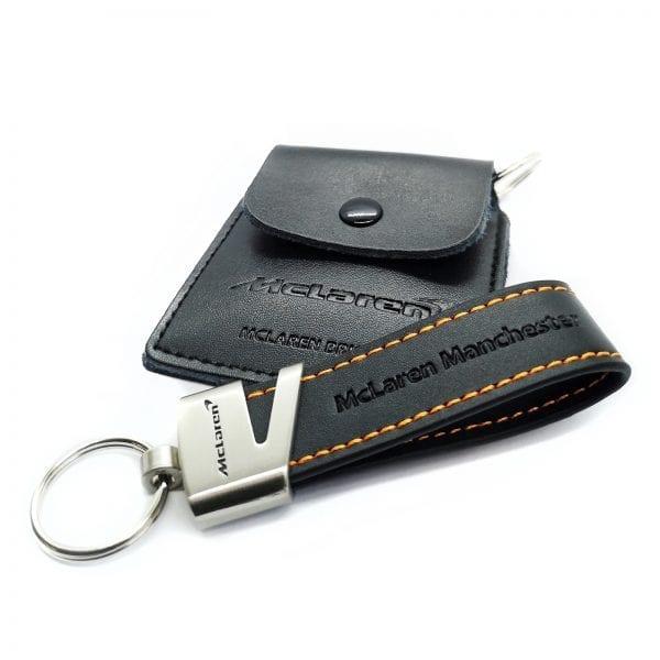 leather loop keyring 25