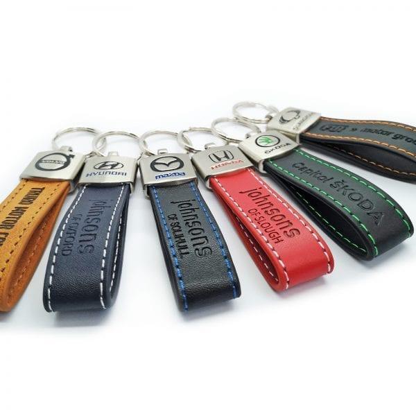 leather loop keyring 14
