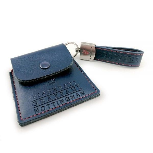 Maserati Key ring and Navtrak Wallet Set