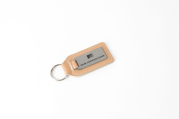 Steel & LEather Key Ring 4