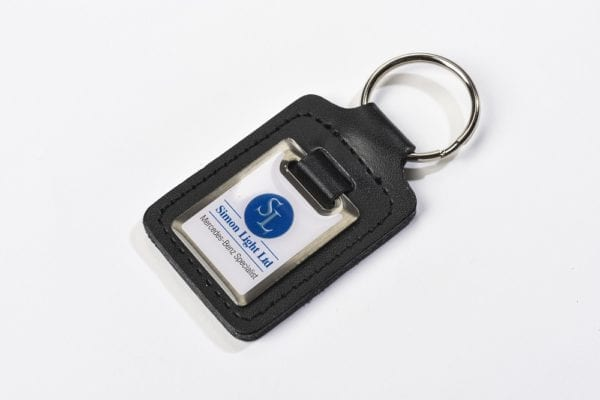 Steel & LEather Key Ring 6