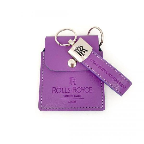 Rolls Royce Navtrak Wallet and Key Ring Set