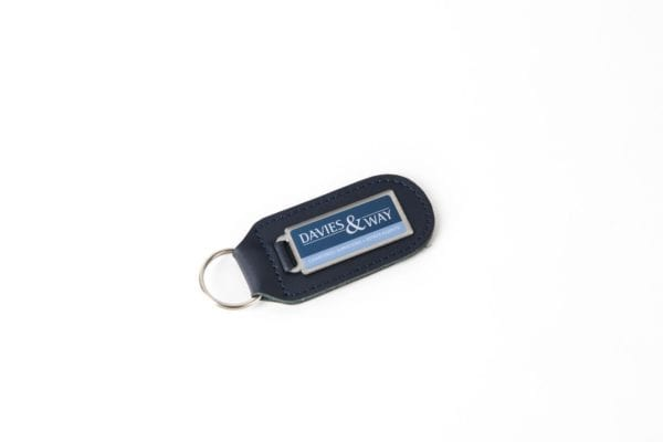 Steel & LEather Key Ring 8