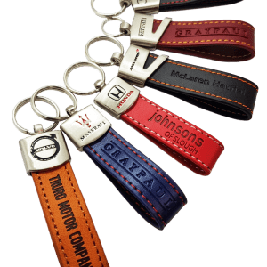 leather loop keyring 31