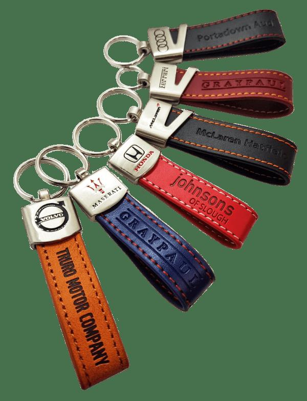 leather loop keyring 31