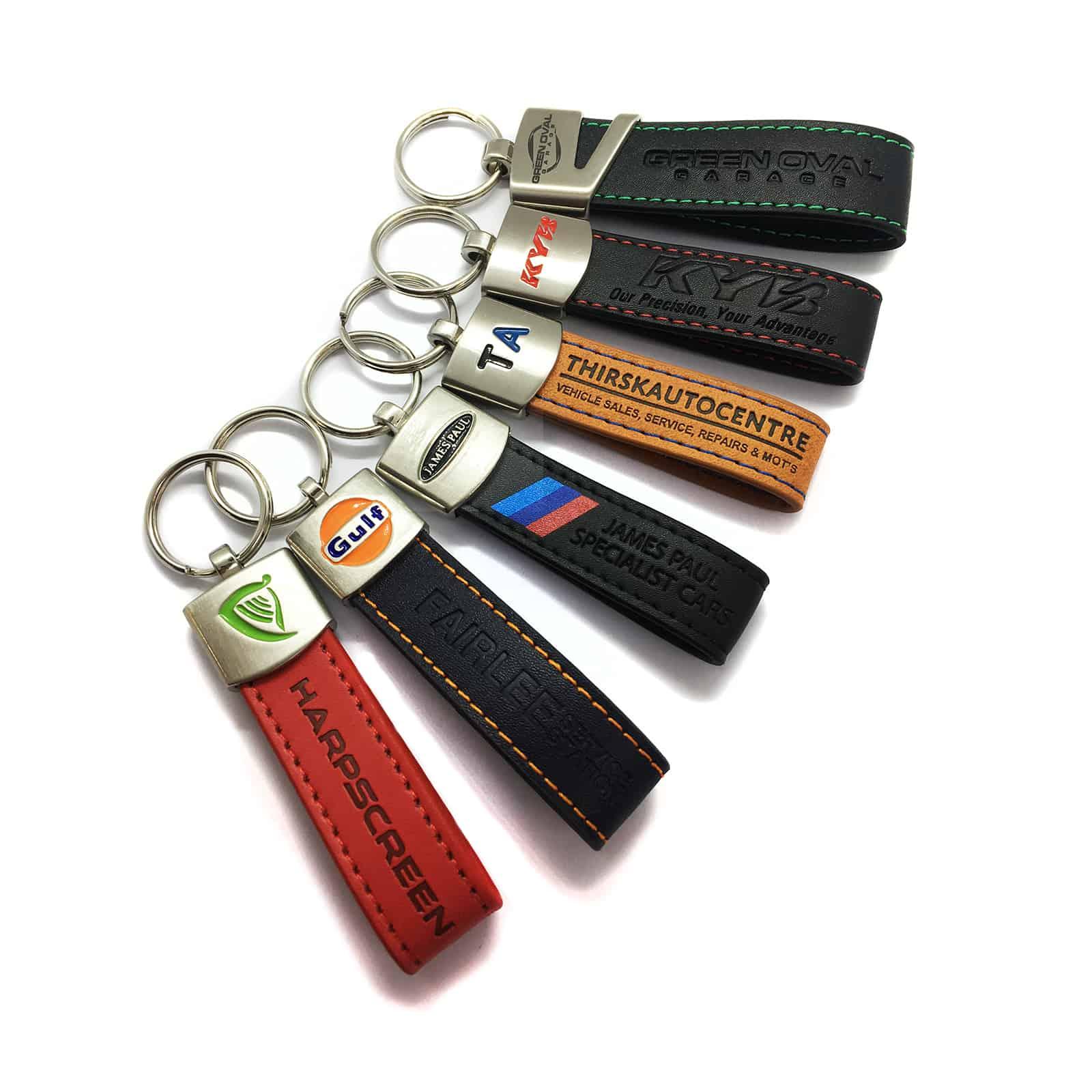 Loop Key Fobs Leather