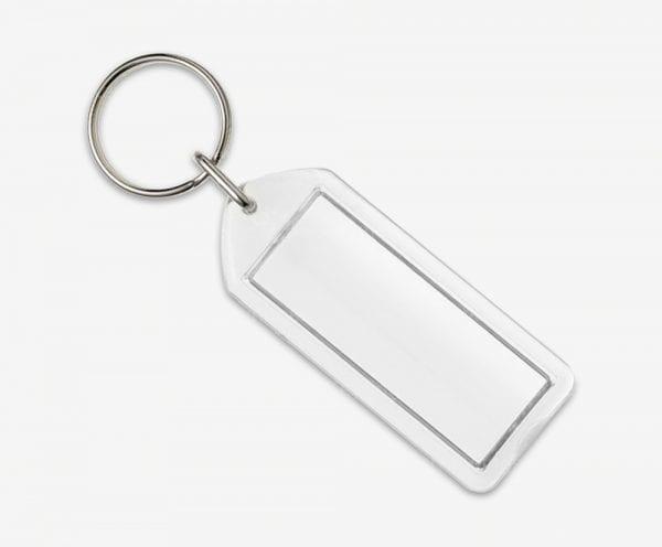 Blank key rings