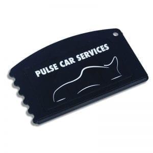 Black Crest Card Ice Scraper