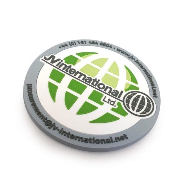 Branded 2D PVC Vinyl Coaster
