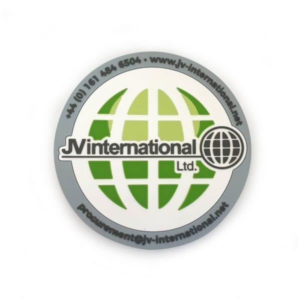 JV International 2D PVC Coaster