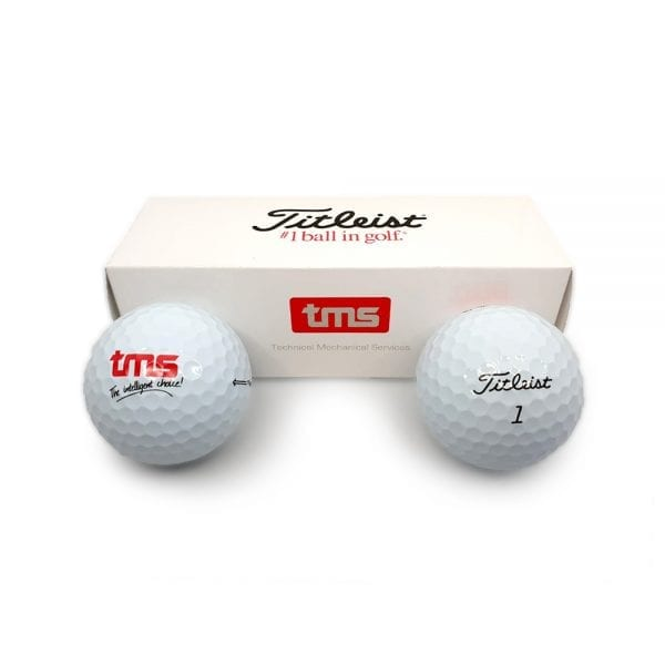 Branded Golf Balls with Box